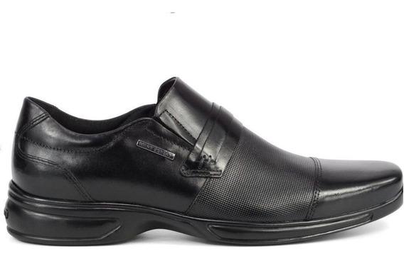 Sapato Masculino Napa Confort West Coast Preto 188705-1