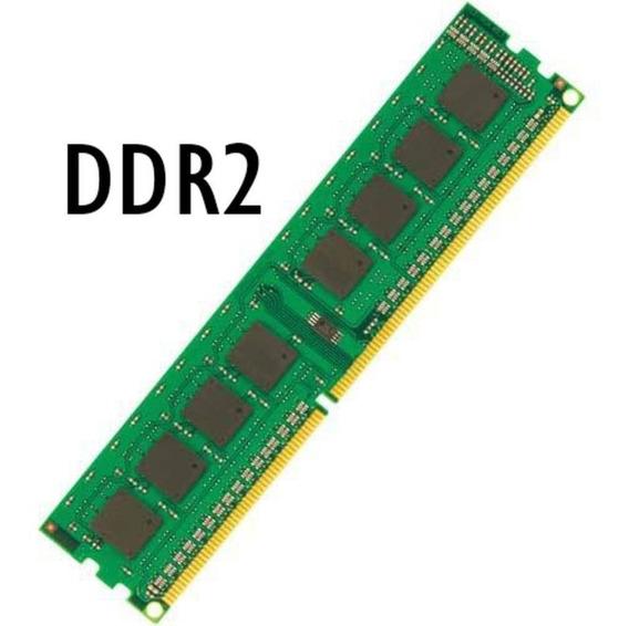 Memória Desktop Ddr2 1gb 10 Unidades **produto 100%**