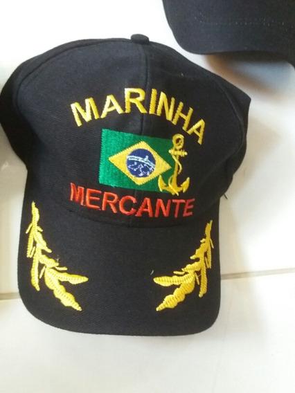 Boné Bordado Marinha Mercante