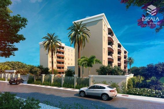 Apartamento Com 3 Quartos À Venda, 60 M², Área De Lazer, Financia - Messejana - Fortaleza/ce - Ap0931