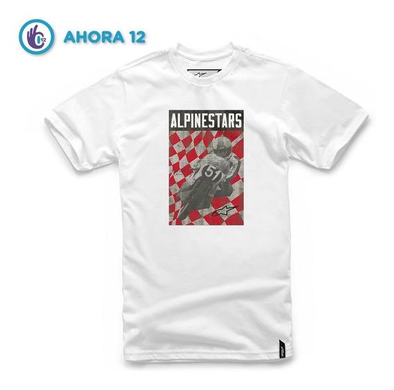 Remera Manga Corta - Cover Tee - Moto Alpinestars
