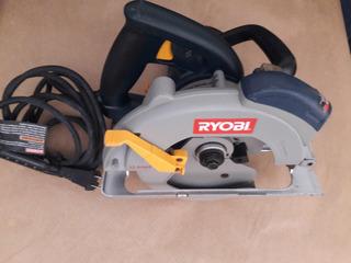 Serra Circular Ryobi Csb132l 7 ¼ C/laser 13 Amper 110 Volt