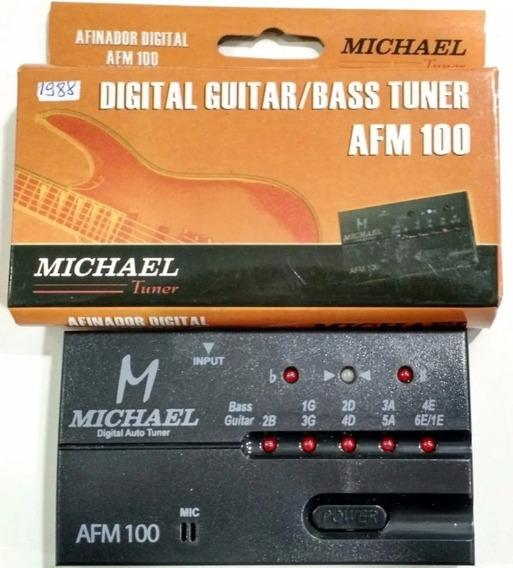 Afinador Digital Michael Chromatic Tuner Afm-100