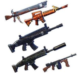 Armas 130   Materiales   Fortnite Salvar Al Mundo