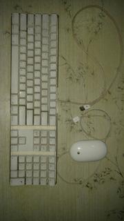Apple Mouse A1152 Teclado A1048 (no Anda Barra Espaciadora)