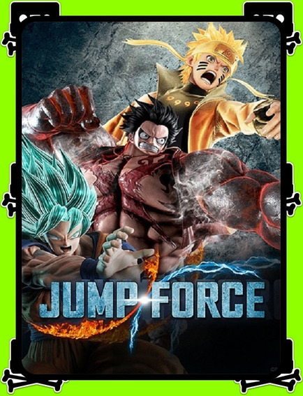Jump Force Pc - 100% Original (steam Key)