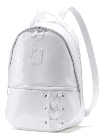 Mochila Puma Prime Archive Backpack Crush Blanca- 075807/02