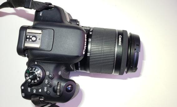 Canon T6i + Lente 18 - 55