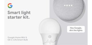 Parlante Google Home Mini Y Foco Inteligente Ge