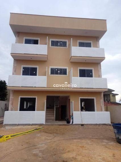 Apartamento Com 2 Dormitórios À Venda, 76 M² - Jardim Atlântico Leste (itaipuaçu) - Maricá/rj - Ap0258