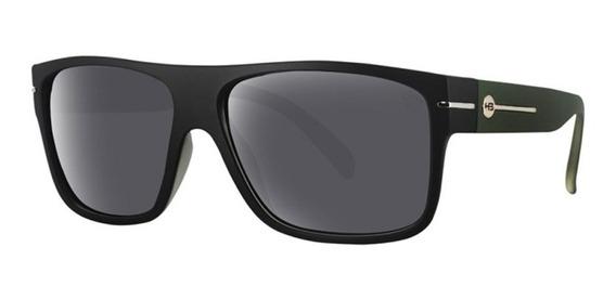 Óculos De Sol Hb Would Preto Fosco/verde