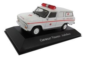 Miniatura Ambulância Chevrolet Veraneio 1:43
