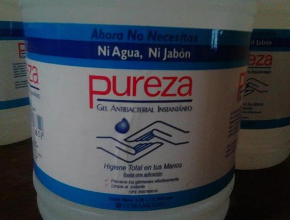 Gel Antibacterial Pureza Galon Bs 321.500 X 4 = 1.286.000