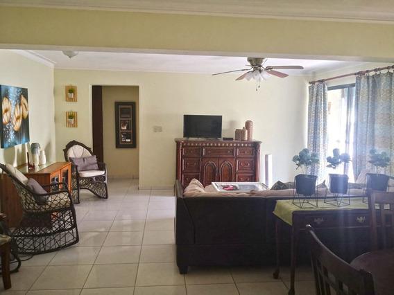Apartamento Amueblado En Alquiler Evaristo Morales Us$800
