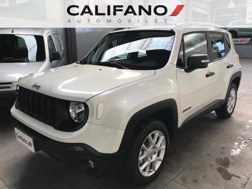 Jeep Renegade Sport 4x2 Mt. Tasa 0% 2021 0km