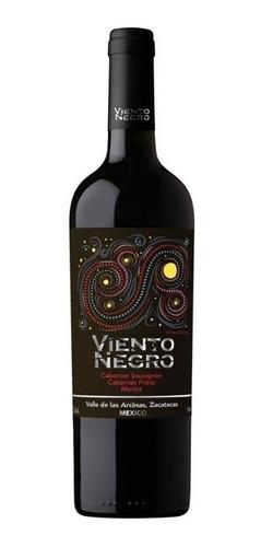 Imagen 1 de 1 de Vino Tinto Viento Negro Cabernet Sauvignon Blend 750ml