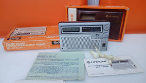 Radio Relogio Hitachi Khc-1300h Am Fm Funcionando