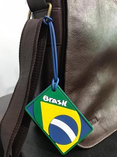Tag Do Brasil Para Bolsas Mochilas Bagagens - Frete Grátis