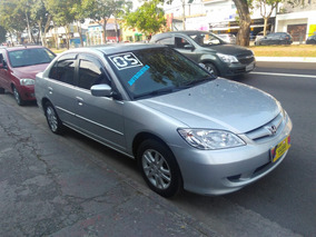 Honda Civic 1.7 Lxl Aut. 4p 130hp 2005