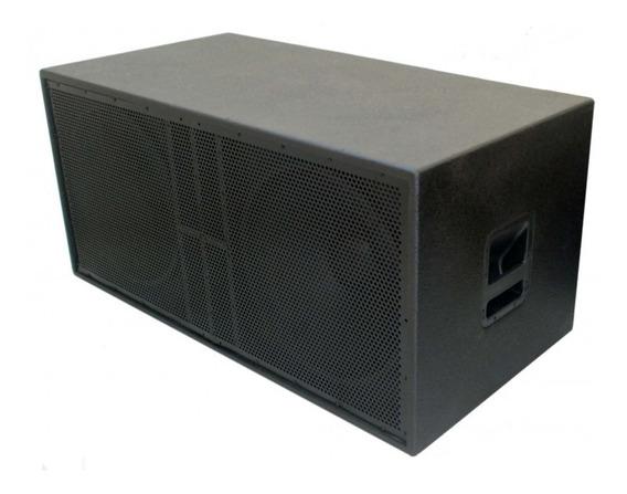 Sub Nhl Ativo 2x 18 1600w Profissional Amplificado Suwoofer