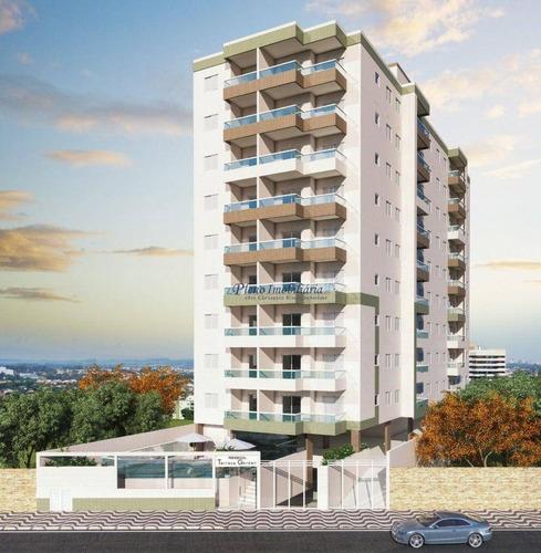 Imagem 1 de 25 de Apartamento Com 2 Dormitórios À Venda, 61 M² Por R$ 323.000,00 - Mirim - Praia Grande/sp - Ap0946
