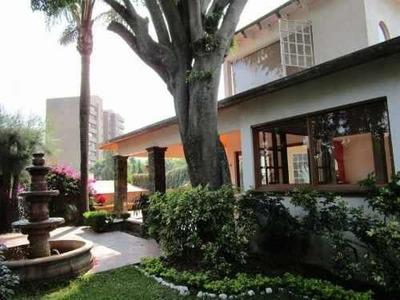 Hermosa Casa Al Norte De Cuernavaca, En Rancho Cortes.