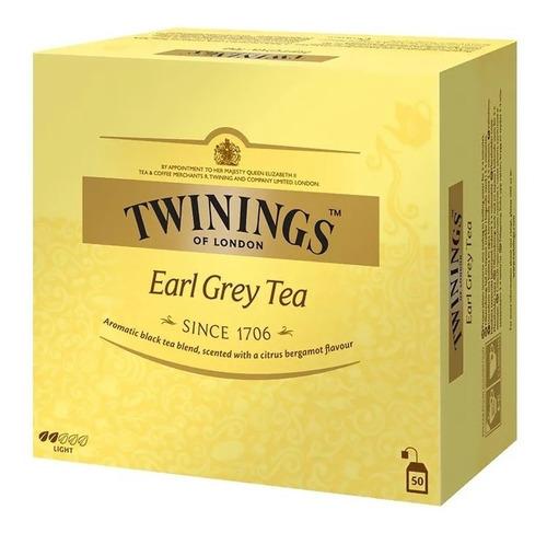 Te Twinings Earl Grey 50 Saquitos X 2g Polonia