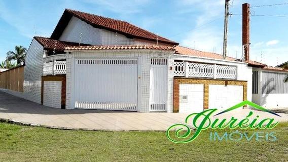Casa Térrea Com Piscina A 300 Metros Da Praia