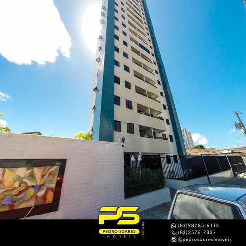 Apartamento Com 3 Dormitórios À Venda, 69 M² Por R$ 350.000 - Bairro Dos Estados - João Pessoa/pb - Ap3147