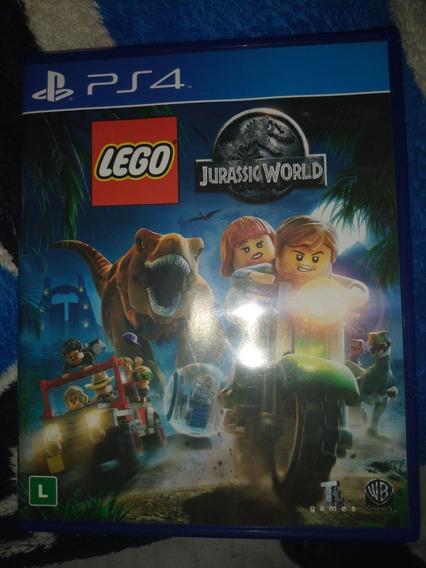 Lego Jurassic World Ps4 Midia Física Pt-br