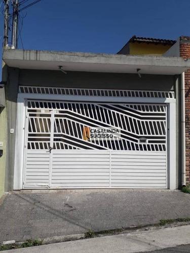 Casa Com 3 Dormitórios À Venda, 150 M² Por R$ 500.000,00 - Jardim Maringá - São Paulo/sp - Ca6196