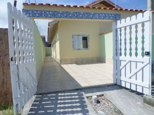 Casa Geminada No Jardim Sion, Itanhaém, Ref. 3738 M H