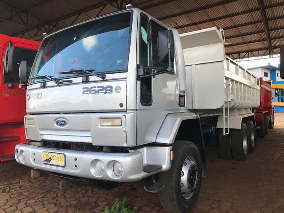 Ford Cargo 2628 Traçado 6x4 Basculante