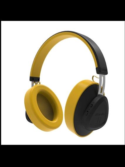 Fone De Ouvido Tms Bluedio Bluetooth Cancelamento Ruido Anc