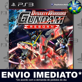 Ps3 Dynasty Warriors Gundam Reborn - Digital Código Psn