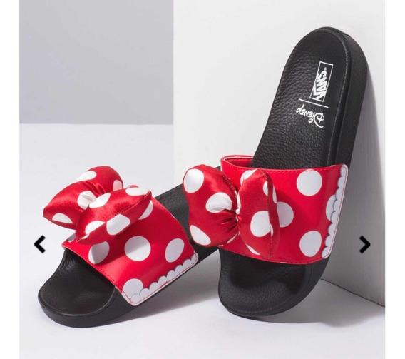 Vans Chinelo Slide-on Disney Minnie