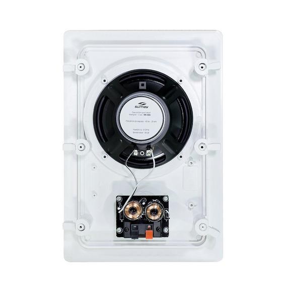 Caixa Acústica De Embutir Sumay Sm-cse60rt 80w