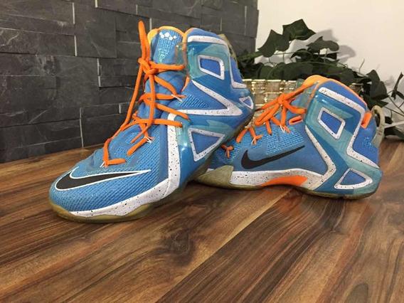 Tenis Nike Lebron Xii Elite 100% Originales + Envío Gratis
