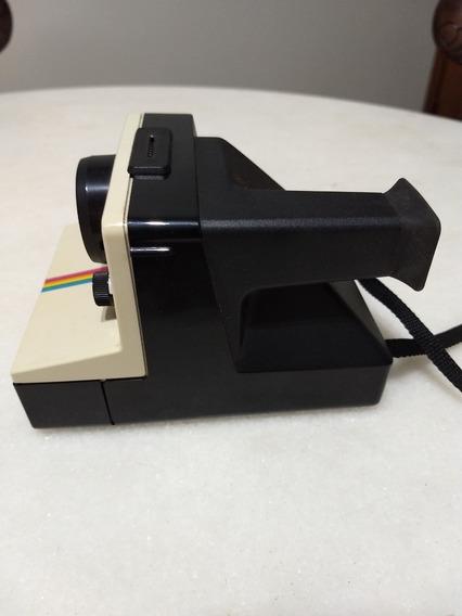 Câmera Polaroid Land Modelo 1000 + Caixa Original E Manual