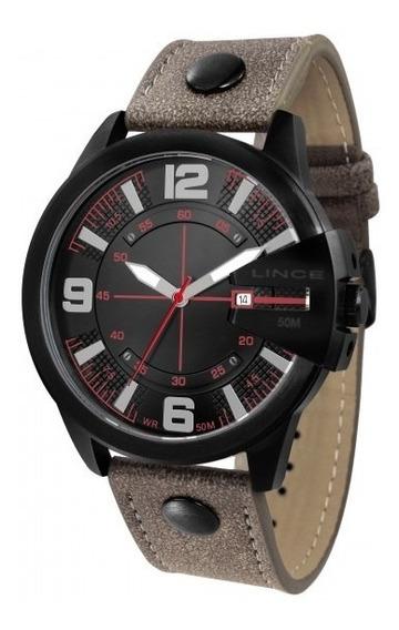 Relógio Lince Mrc4485s P2nx Masculino Couro - Refinado