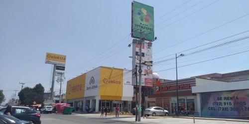 Renta De Local En Plaza Comercial, San Pedro Totoltepec