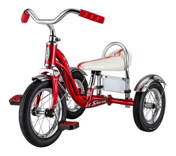 Triciclo De Acero Vintage Schwinn P/ Niños Personalizable