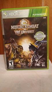 Mortal Kombat Vs Dc Universe (con Manual) Xbox 360 Od.st