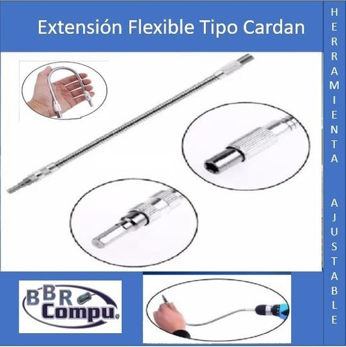 Extension Flexible Para Taladros, Y Otras Herramientas