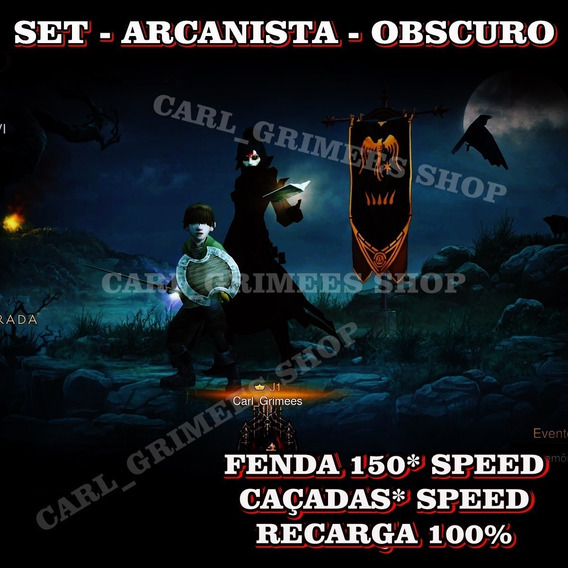 Diablo 3 - Ps4 - Kit Arcanista Obscuro - Speed