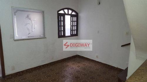 Imagem 1 de 23 de Sobrado Com 2 Dormitórios Para Alugar, 110 M² Por R$ 2.300,00/mês - Vila Mariana - São Paulo/sp - So0525