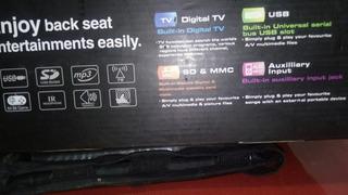 Equipo Dvd Con Pantala Touch Para Auto Impecable