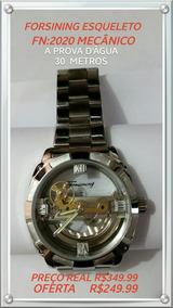 Relógios Forsining Original Esqueleto