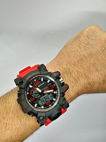 Relógio De Pulso Masculino Digital Led Aprova D