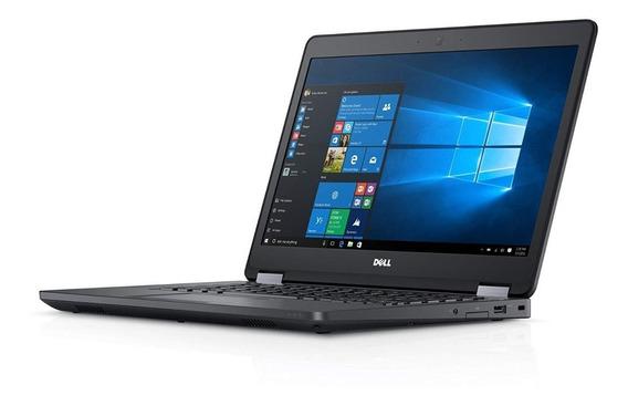 Notebook Dell Latitude E5470 I5 8gb Hd 500 Semi Novo